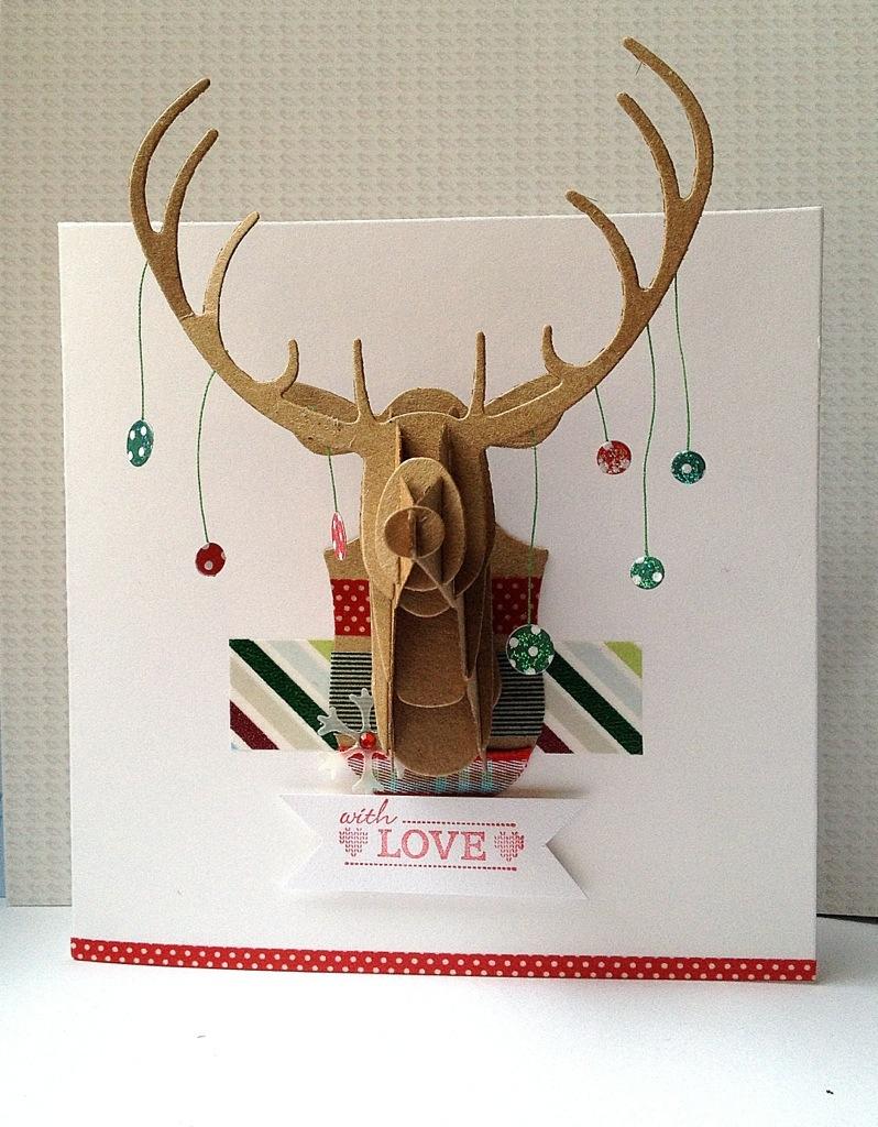 contemporary Christmas cards  Kerenbakers Blog
