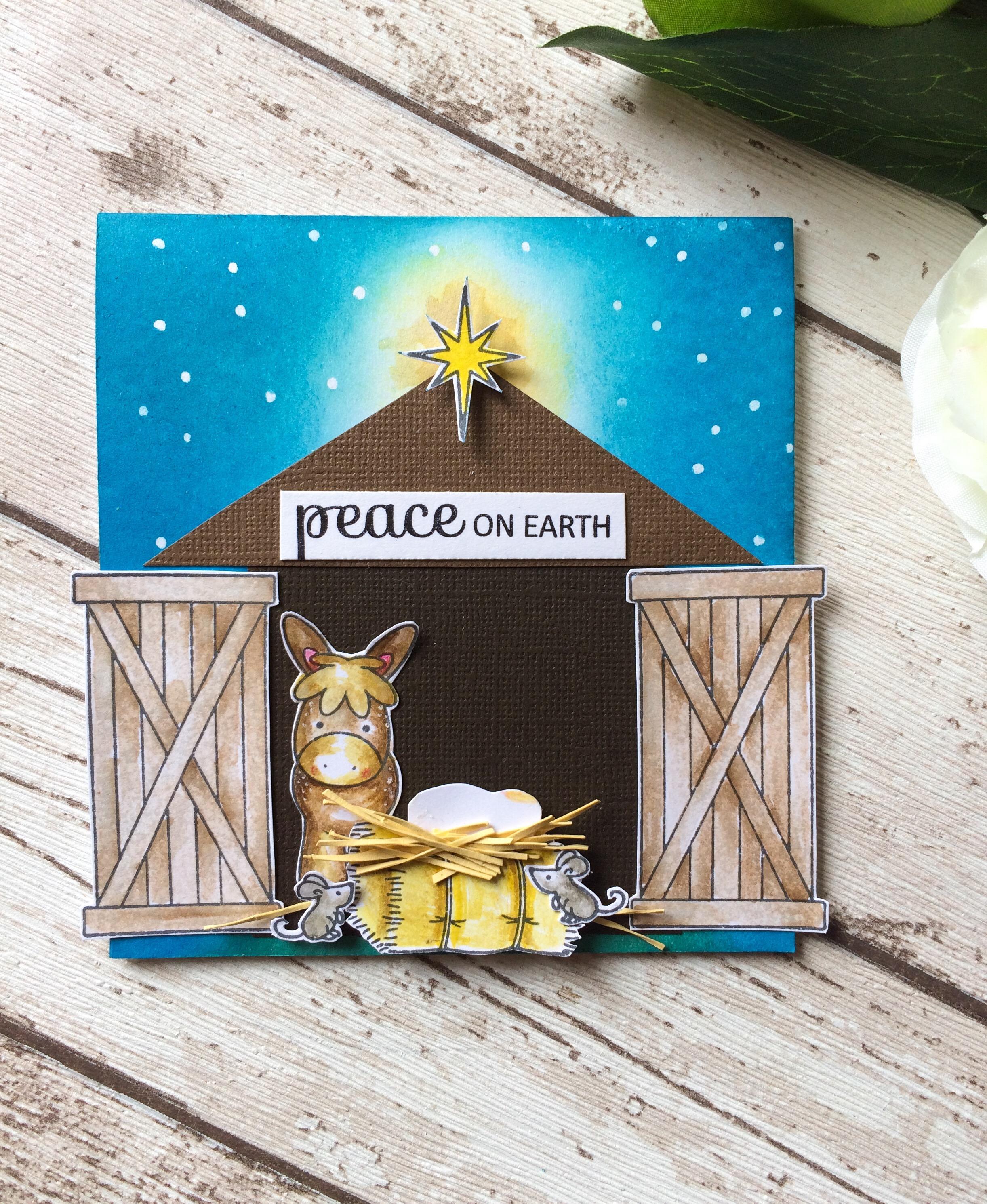 Nativity Scene Christmas cards   Kerenbaker\'s Blog